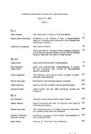 Current Research on Peace and Violence