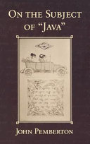 On The Subject Of Java