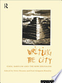 Writing The City book