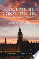 The British Constitution  Continuity and Change