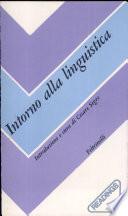 Intorno alla linguistica