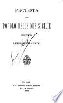 Protesta del popolo delle Due Sicilie