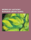 Works by Anthony Burgess
