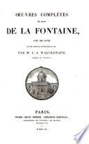 Oeuvres compl  tes de Jean de La Fontaine