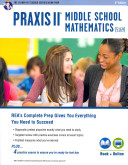 Praxis II Middle School Mathematics  5169  With Online Practice Tests