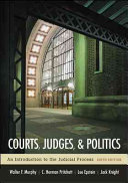 Courts  Judges  and Politics
