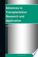 Advances in Transplantation Research and Application  2011 Edition