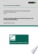 Grenzen der Übertragbarkeit der HdA-Forschung auf die heutige Arbeitsforschung