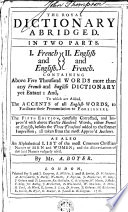 The Royal Dictionary