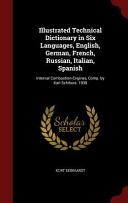 Illustrated Technical Dictionary in Six Languages  English  German  French  Russian  Italian  Spanish