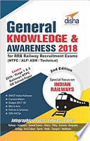 General Knowledge   Awareness 2018 for RRB Railway Recruitment Exams  NTPC  ALP  ASM  Technical  2nd Edition