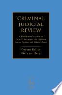 Criminal Judicial Review book