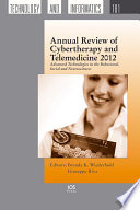 Ebook Annual Review of Cybertherapy and Telemedicine Epub Brenda K. Wiederhold,Giuseppe Riva Apps Read Mobile