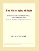 The Philosophy of Style  Webster s Chinese Traditional Thesaurus Edition