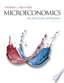 Microeconomics  An Intuitive Approach
