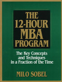 The 12 hour MBA Program