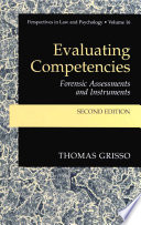 Evaluating Competencies : review of what happened to the field...