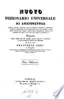 Nuovo Dizionario universale e ragionato di agricoltura     compilato per cura di Francesco Gera