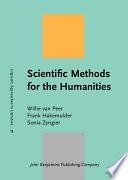 Ebook Scientific Methods for the Humanities Epub Willie Van Peer,Jèmeljan Hakemulder,Frank Hakemulder,Sonia Zyngier Apps Read Mobile