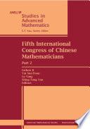 Fifth International Congress of Chinese Mathematicians