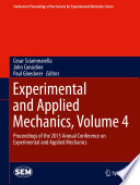 Experimental and Applied Mechanics  Volume 4