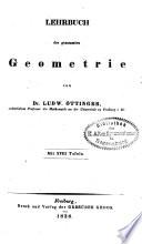 Lehrbuch der reinen Mathematik