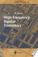 High Frequency Bipolar Transistors