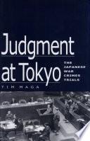 Judgment At Tokyo