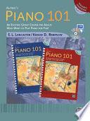Alfred s Piano 101  Teacher s Handbook for Books 1   2