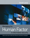download ebook managing the human factor in information security pdf epub