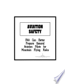 Aviation Safety book