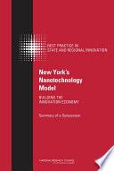 New York s Nanotechnology Model