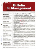 Bulletin to Management