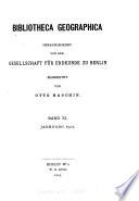 Bibliotheca geographica