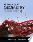 Awesome Elementary Geometry for College Students