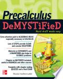 Pre Calculus Demystified