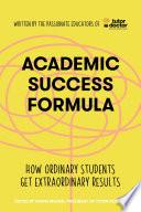 Academic Success Formula