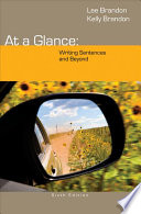 At a Glance  Writing Sentences and Beyond