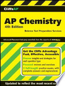 CliffsAP Chemistry  4th Edition