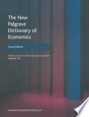 Ebook The New Palgrave Dictionary of Economics Epub NA NA Apps Read Mobile