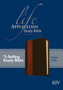 Life Application Study Bible KJV  Personal Size  Tutone