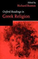Oxford Readings in Greek Religion