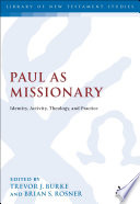 Paul as Missionary