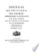 Journal de physique  de chimie  d histoire naturelle et des arts