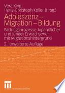 Adoleszenz   Migration   Bildung