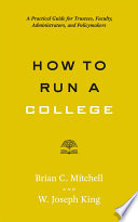 How to Run a College