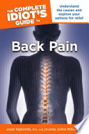 The Complete Idiot S Guide To Back Pain