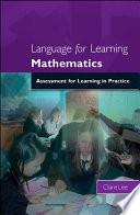 Language for Learning Mathematics