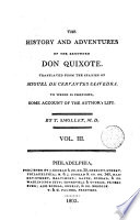 The History and Adventures of the Renowned Don Quixote 3 Book PDF