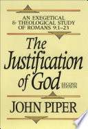 illustration The Justification of God, An Exegetical and Theological Study of Romans 9:1-23